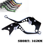 Short Edging colored Brake Clutch Levers For Yamaha YZF600R Thundercat /TRX850
