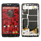 Black LCD Touch Screen Digitizer Frame For Motorola Droid Turbo XT1254 XT1225 US
