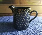 Sango Larry Laslo Collection Gold Dust 1052 Creamer Gold on Black