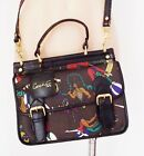 WOW  RARE  CACHE PARIS VINTAGE RETRO  THE CIRCUS IS IN TOWN  SHOULDER BAG