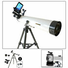 Brand NEW Cassini 800mm x 80mm Astronomical Telescope w Smartphone Adapter