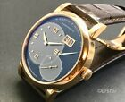A. LANGE & SOHNE GRAND LANGE 1 ONE 18K ROSE GOLD WATCH with DEPLOYANT DEPLOYMENT