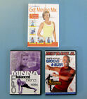 Lot of 3 FITNESS  WEIGHT LOSS DVDs Weight Watchers Billy Blanks Optimizer Yoga