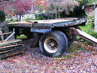 Vintage York Drawbar Trailer 20 ton 20ft