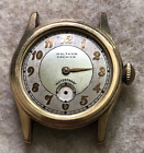 Vintage Mid-Size Waltham Premier Watch Parts/Repair Waterproof Gold Wrist