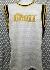 ONEILL Mens Tank Top Basketball Style Jersey Size Large L White Gold and Black