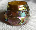 Charles Lotton Art Glass Lava Bowl signed and dated 1986