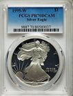 1995 W American Eagle Silver Dollar DCAM PCGS PR 70 RARE THE KING OF EAGLES