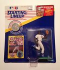 1991 Starting Lineup Shawon Dunston Figure W/ Coin and Card. Cubs!
