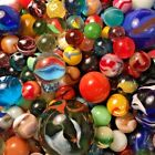 Vintage Marble Collection 5$ = 5 Marbles Akro Peltier Jabo Large Lot Cleary