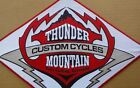 Thunder Mountain Custom Cycles Fort Collins CO motorcycle Harley jacket patch