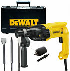 Dewalt D25033 240v SDS+ Hammer Drill 3 Mode + Set of Chisels & Chuck & Adapter