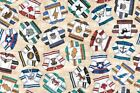 Face Off Ice Hockey Sports Shirts Cotton Fabric by Quilting Treasures
