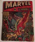 Marvel Mystery Comics 28 1942 Timely Schomburg Cover