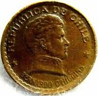1952 CHILE 20 CENTAVOS HISTORIC COLLECTIBLE KM 177