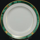 Fitz & Floyd LOT of 4 GREENWICH Bread & Butter Plates Porcelain China