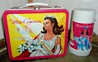 NEAR MINT 1972 Miss America Metal Lunch box  Glass Thermos TV Pageant Lunchbox