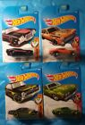 HOT WHEELS CLASSIC AMERICAN MUSCLE CAR LOT SET Chevy Ford Pontiac Brand New