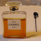VTG 1ml Sample from Striped Box Chanel No 5 SEALED Parfum Extrait Bottle