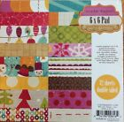 NEW Crate Paper  Snow Day Collection 6 X 6 Paper Pad