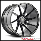 SAVINI 20 BM15 BLACK CONCAVE DIRECTIONAL WHEELS RIMS FITS HYUNDAI GENESIS COUPE