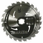 Makita MFORCE Wood Cutting Saw Blade 190mm 24T 30mm