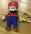 Super Mario Plush Beanie Rare Official BNWT Video Game Character Collectable
