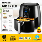 Power Electric  Air Fryer XL 5.3QT Oil Less 1800 Watts Low Fat Digital Touch LCD