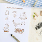 Baby Transparent clear Stamp Scroll For DIY Scrapbooking Card Making Decorv