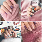 1Sheet Self Adhesive Nail Polish Foils Sticker Nall Art Decals Manicure Wraps