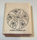 Beach Ball Rubber Stamp Stampin Up New 2004 NOS Vacation Summer Toys Kids