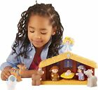Kids Holiday Gift Toy Fisher Price Little People Nativity 6 Animal Figures