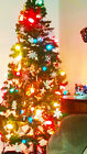 NEW Charming 6Feet Tall Christmas Tree With Stand Holiday Season Indoor Outdoor