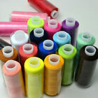 2016 Hand Polyester Quilting New 24 Lot Sewing Thread Spool Mixed Colors Machine