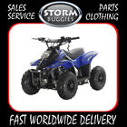 VRX70 MIKRO 70cc KIDS FULLY AUTO PETROL QUAD BIKE BLUE STORM BUGGIES