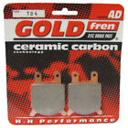 Front Disc Brake Pads for Gilera RV200 1985 200cc Front Requires Two AD-184