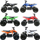 500W Electric Children Youth ATV Quad Kids 4 wheeler 12v 2XBattery Gift Toy USA