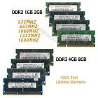 Lot for Hynix RAM 8GB 4GB 2GB 1GB PC2 PC3 RAM Laptop Kit Memory DDR2 DDR3 SODIMM