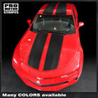 Chevrolet Camaro 2016 2018 Top Rally Sport Stripes Decals w Roof Choose Color