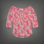 Abercrombie and Fitch Abigail Pink Medium