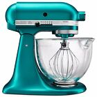 ® 5 qt. Artisan® Design Series Stand Mixer with Glass Bowl in Seaglass