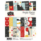 Simple Stories Scrapbook 6x8 Say Cheese Collection lll Paper Pad