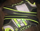 Heelys Size 3 Boys Girls Youth Size 3 Light Up Black Neon Green