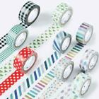 Japanese DIY Single Side Tape Stripe Decorate Adhesive Washi Crafts Supply New