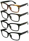 Hipster Reading Glasses Men Women Vintage Style Retro Readers Choose Power Color