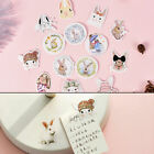 45Pcs box Rabbit Papers Stickers Flakes For Diary Decoration DIY Scrapbooking TS