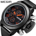 Men's Sports Casual Quartz Automatic Black Waterproof Analog Cheap Watch