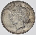 Choice AU+ 1922 Peace Silver Dollar 90 Silver 363