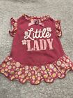 Dog Dress Size XS Pet Stuff Pink Little Lady Daisy Pattern Trim