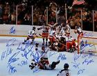 1980 US OLYMPIC HOCKEY TEAM MIRACLE ON ICE AUTOGRAPHED SIGNED 8X10 RP PHOTO WW